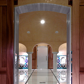 Les bains arabes palais de comares - Banos arabes palacio de comares ...